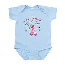Clara, Nutcracker ballet Infant Bodysuit