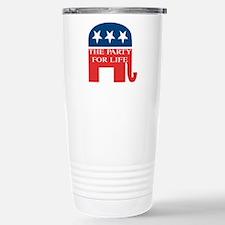 GOP Party for Life Travel Mug