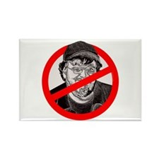 No More Michael Moore Rectangle Magnet