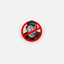 No More Michael Moore Mini Button