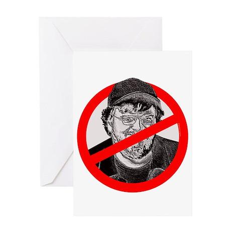 No More Michael Moore Greeting Card