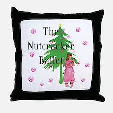 Clara, Nutcracker ballet Throw Pillow