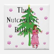Clara, Nutcracker ballet Tile Coaster