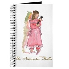 Clara and her nutcracker gift Journal