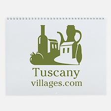 Picturesque Tuscany Wall Calendar - Medium