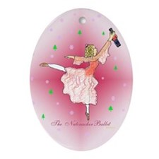 Magical Clara III Oval Ornament