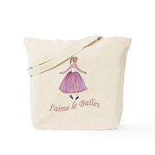 jaime le ballet (col) Tote Bag