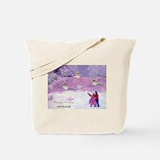 Dancing snowflakes Nutcracker Tote Bag