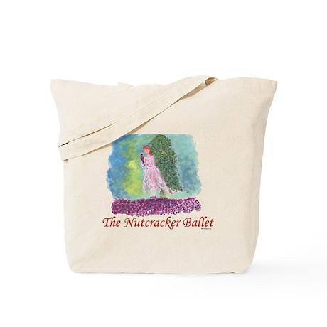 Clara and her Nutcracker, Ballet Tote Bag