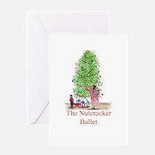 The Nutcracker Ballet Greeting Card