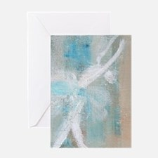 Dance Abstract Greeting Card