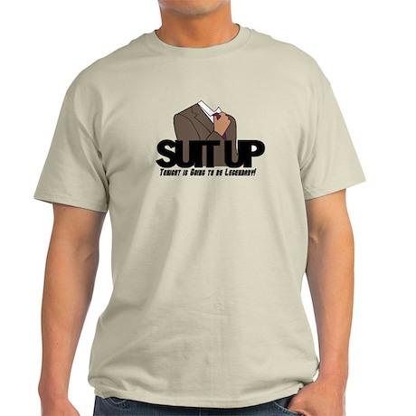 Suit Up! Light T-Shirt