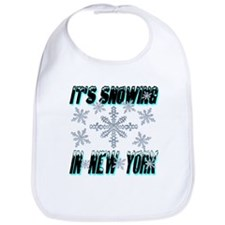 It's Snowing In New York Bib