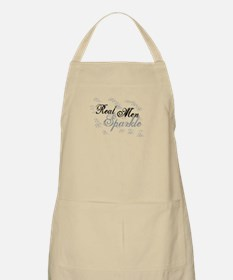 Real Men Sparkle Apron