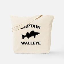 CAPTAIN WALLEYE Tote Bag
