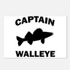 CAPTAIN WALLEYE Postcards (Package of 8)