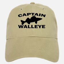 CAPTAIN WALLEYE Baseball Baseball Cap
