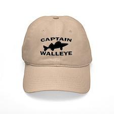 CAPTAIN WALLEYE Baseball Cap