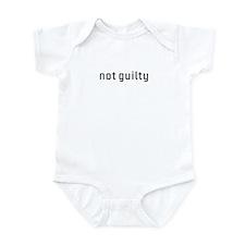 Not Guilty Infant Bodysuit