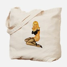 Sexy Pin-up Tote Bag