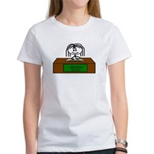 Library Chick Tee