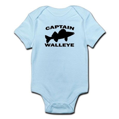 CAPTAIN WALLEYE Infant Bodysuit