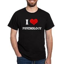 I Love Publishing Black T-Shirt