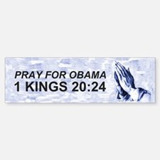 1 Kings 20:24 Bumper Bumper Bumper Sticker