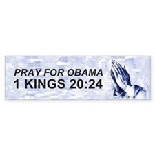 1 Kings 20:24 Bumper Bumper Sticker
