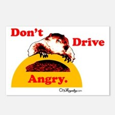 Don't Drive Angry Postcards (Package of 8)