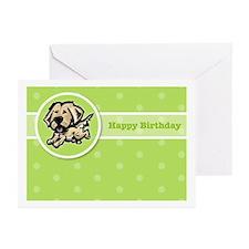 Golden Birthday Greeting Cards (Pk of 10)