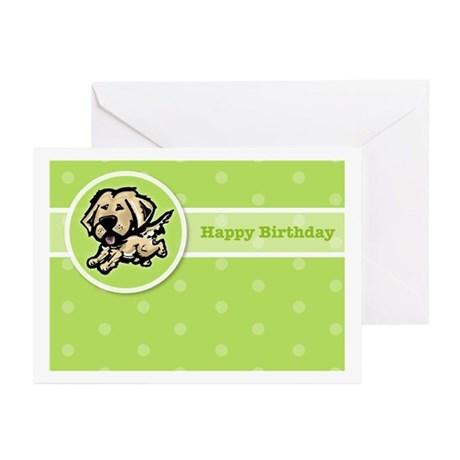 Golden Birthday Greeting Cards (Pk of 10)