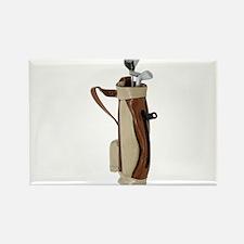 Golf Bag Rectangle Magnet
