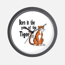 Funny Year of the tiger Wall Clock