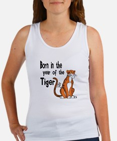 Unique Year of the tiger Women's Tank Top