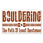 Path of Least Existence Sticker (Rectangle)