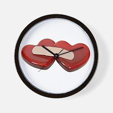 Healing Hearts Wall Clock