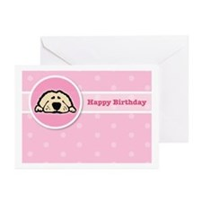 Puppy Birthday Greeting Cards (Pk of 10)