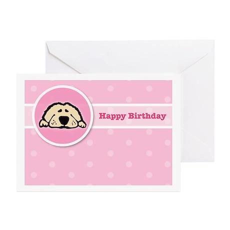 Puppy Birthday Greeting Cards (Pk of 10)