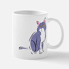 Elegant Cat Mug