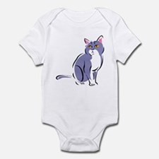 Elegant Cat Infant Bodysuit