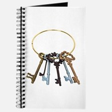 Key Chain Antique Journal