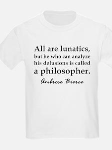 Bierce Philosophers T-Shirt