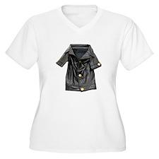 Leather Coat T-Shirt
