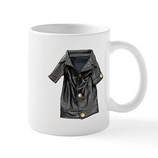 Leather Coat Mug