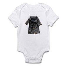 Leather Coat Infant Bodysuit