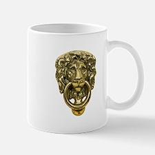 Lion Door Knocker Mug