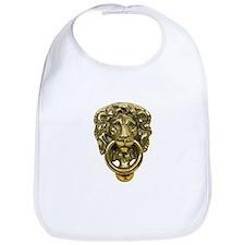 Lion Door Knocker Bib