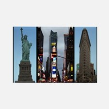 New York Souvenir Rectangle Magnet