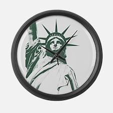 New York Souvenir Large Wall Clock